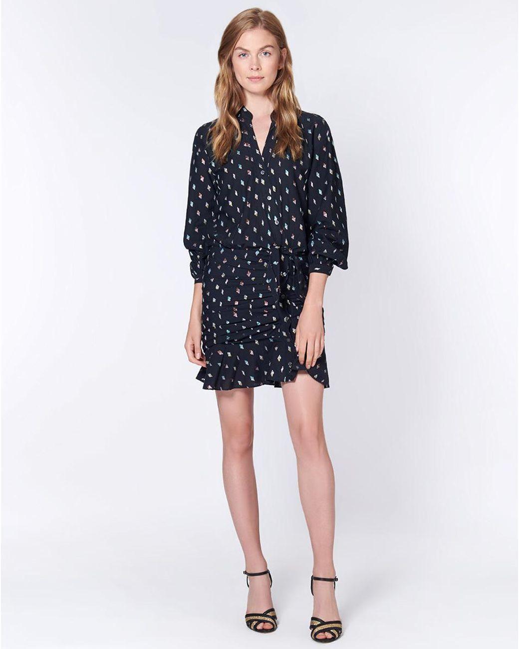 93bf25c036866 Veronica Beard Alia Dress in Black - Save 60% - Lyst