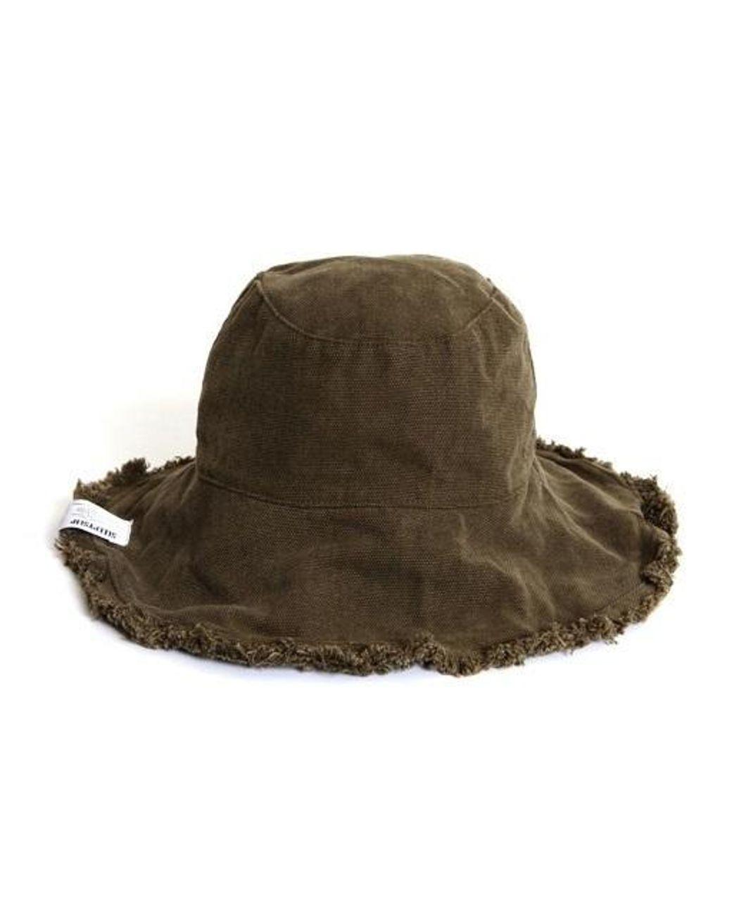 bbbcc4b8849 SLEEPYSLIP Reversible Khaki Bucket Hat in Natural - Lyst