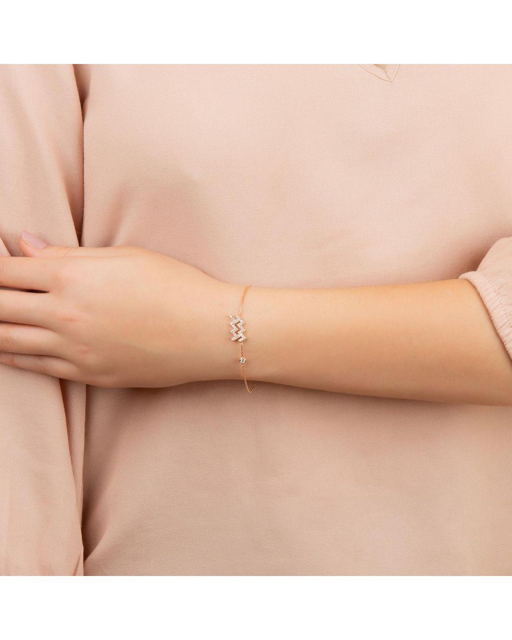 DAISY LONDON Designer Sterling Silver 925 Zodiac Bracelet Star Sign Gold Taurus