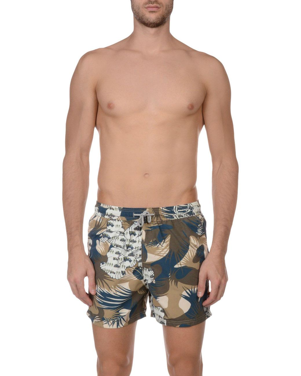 fc23be693ed Etro Swimming Trunks in Natural for Men - Lyst