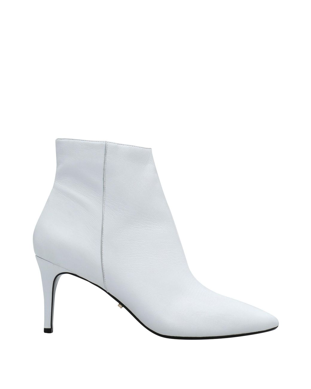 Dune Leather Ankle Boots in White - Lyst