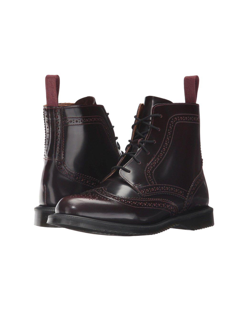 4da26533724 Women's Delphine 6-eye Brogue Boot