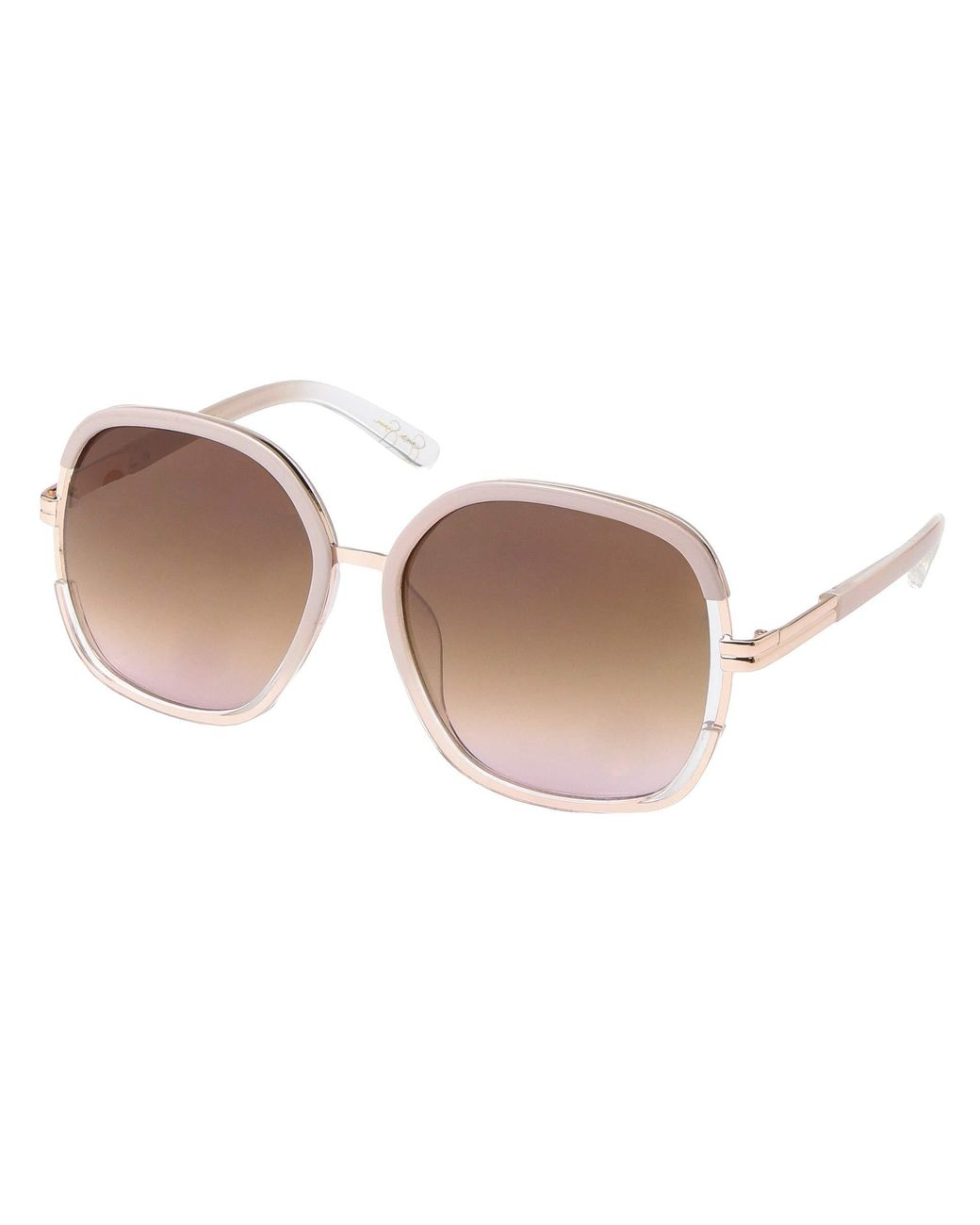 Jessica Simpson J5686 Black Brown Women/'s Sunglasses NWT