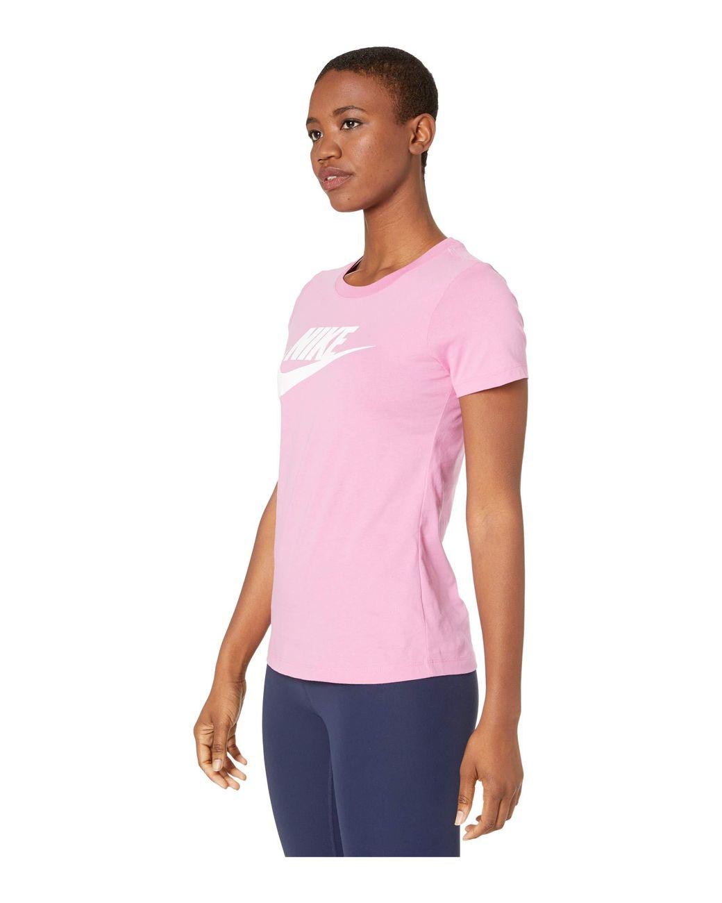 Nike Tee Essential Icon Futur T-Shirt Donna