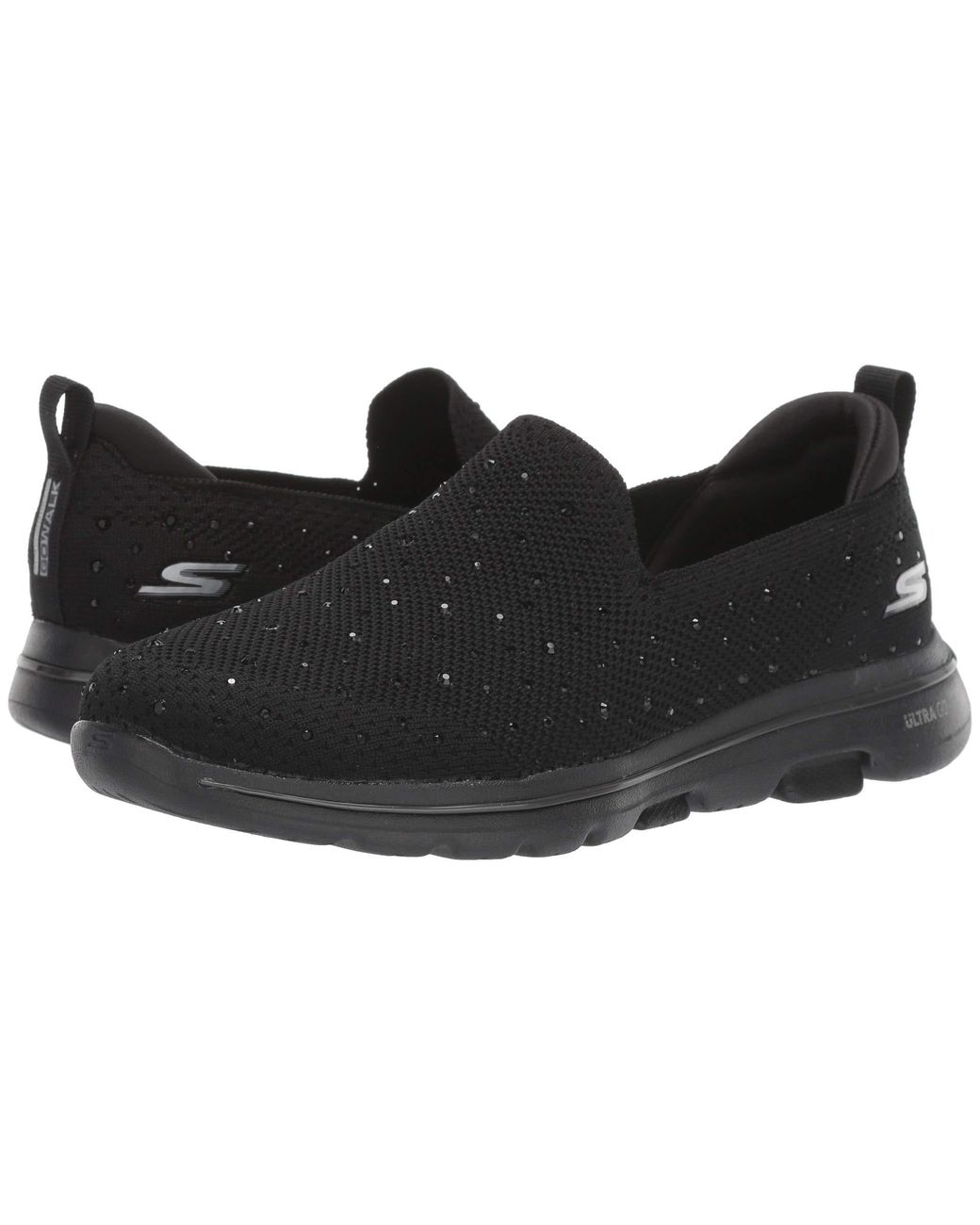 Skechers Go Walk 5 - Limelight in Black