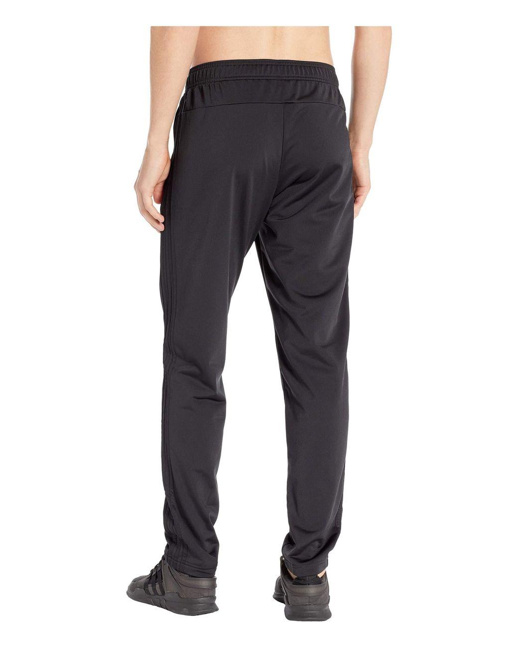 adidas Men's Essentials 3 Stripes Pants (blackscarlet) 2