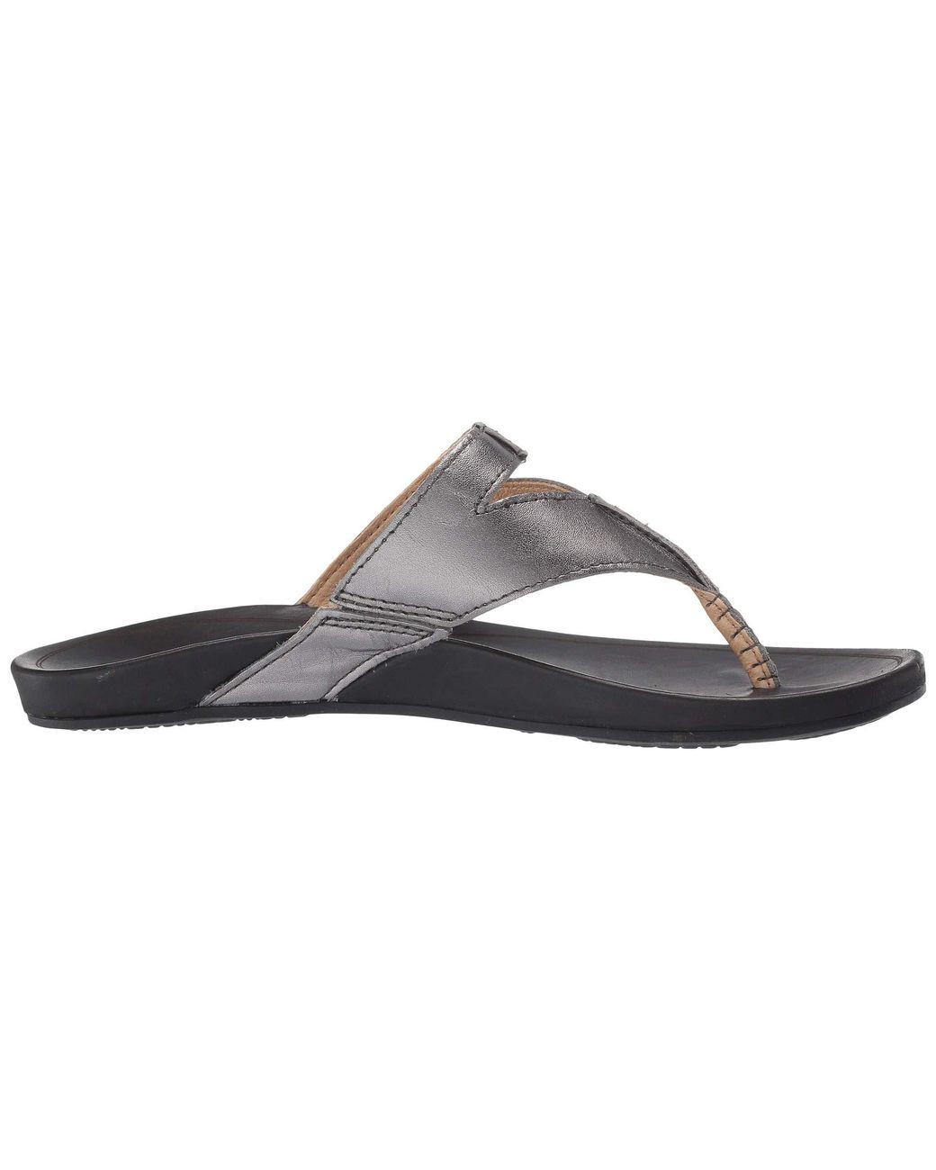 8540e8ad006 Lyst - Olukai Lala (black tan) Women s Sandals in Black