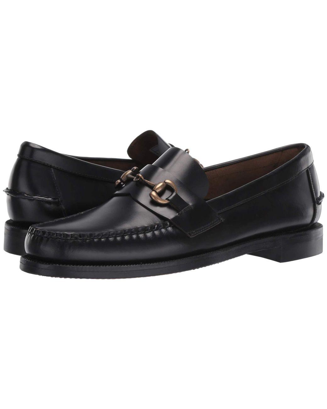 18193129194b Sebago Classic Joe in Black for Men - Lyst