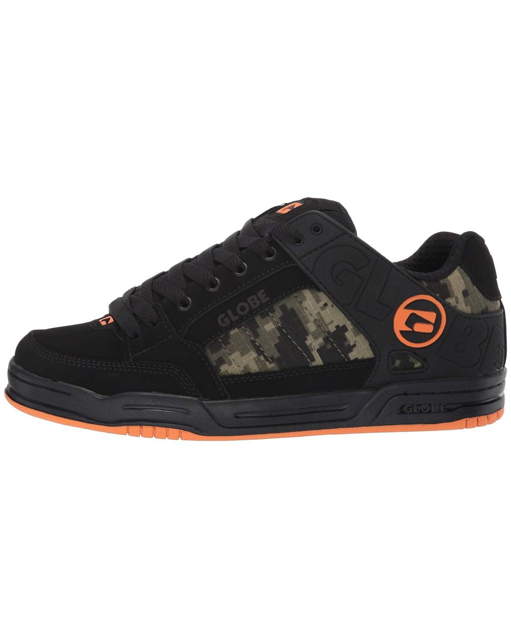 4d29d6c87f Lyst - Globe Tilt (black red grey Knit) Men s Skate Shoes in Black for Men