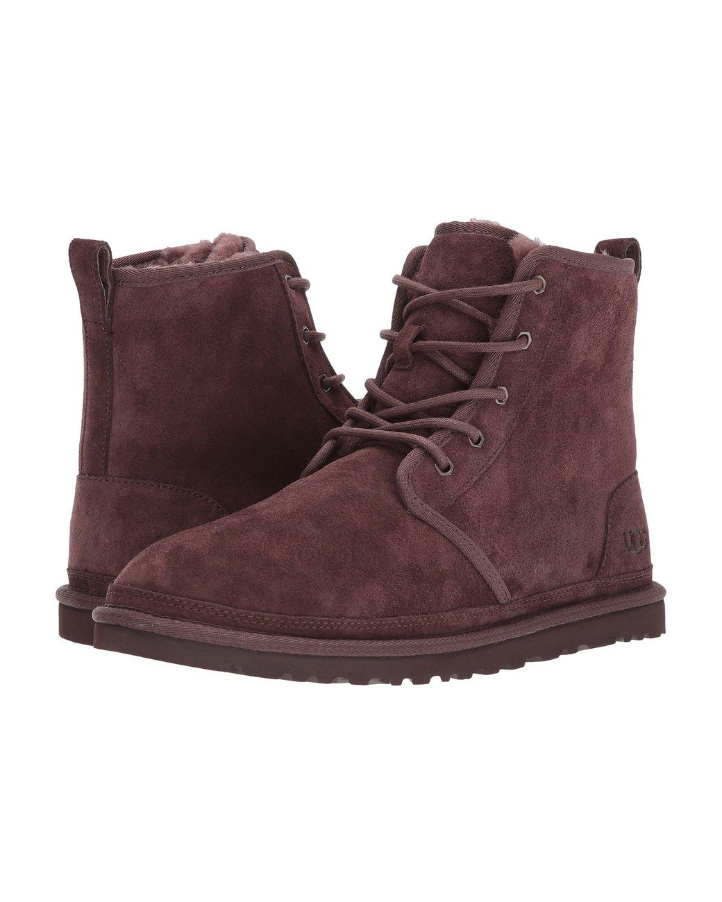 53151b40bfd9 Lyst - UGG Harkley (true Navy) Men s Shoes in Brown for Men - Save 9%