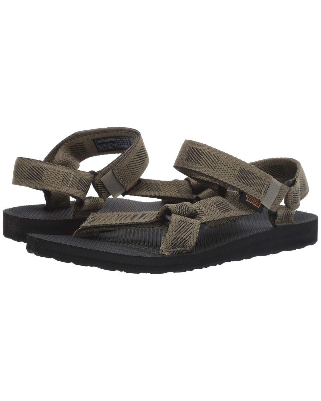 cd8dbdd40 Lyst - Teva Original Universal (boomerang Black white) Men s Sandals for Men  - Save 2%