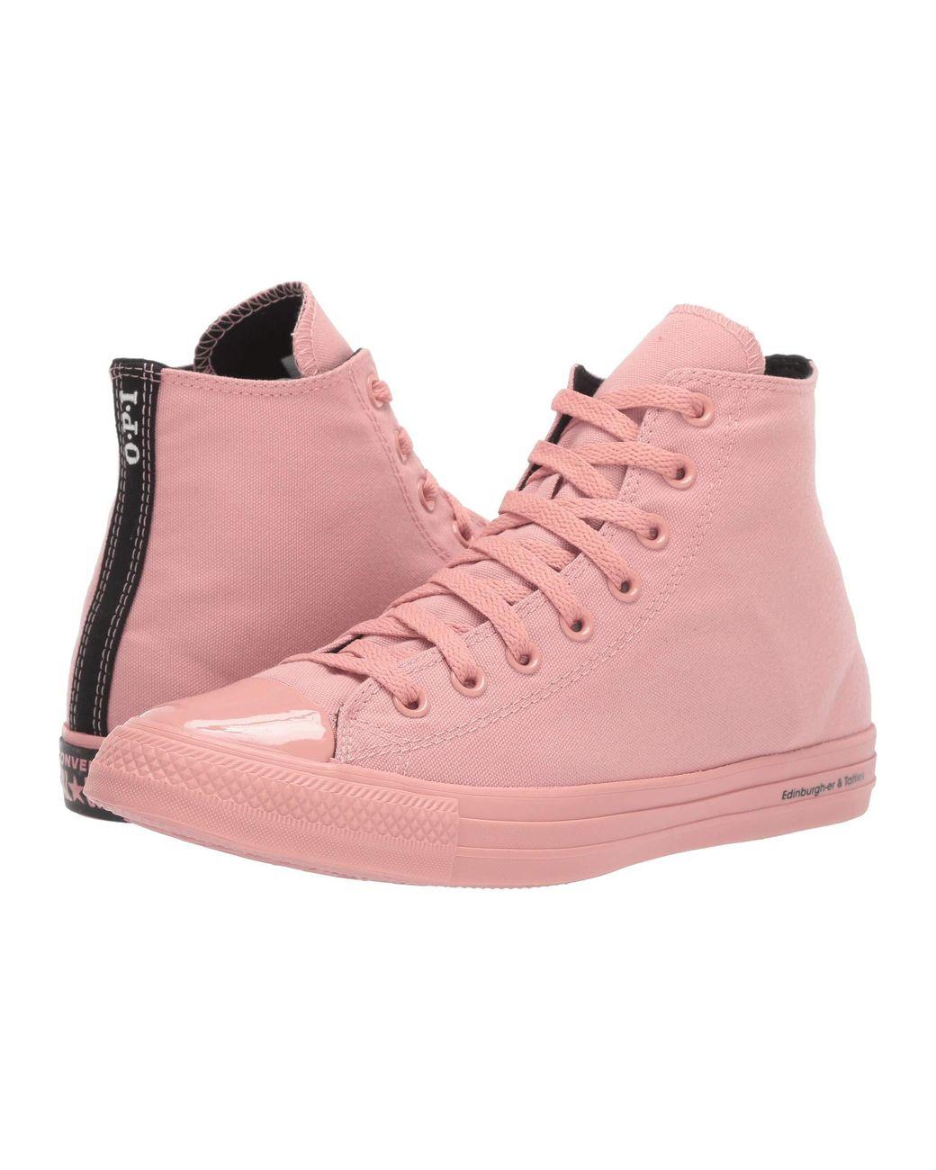 Women's Pink Chuck Taylor All Star Opi Nail Polish Hi