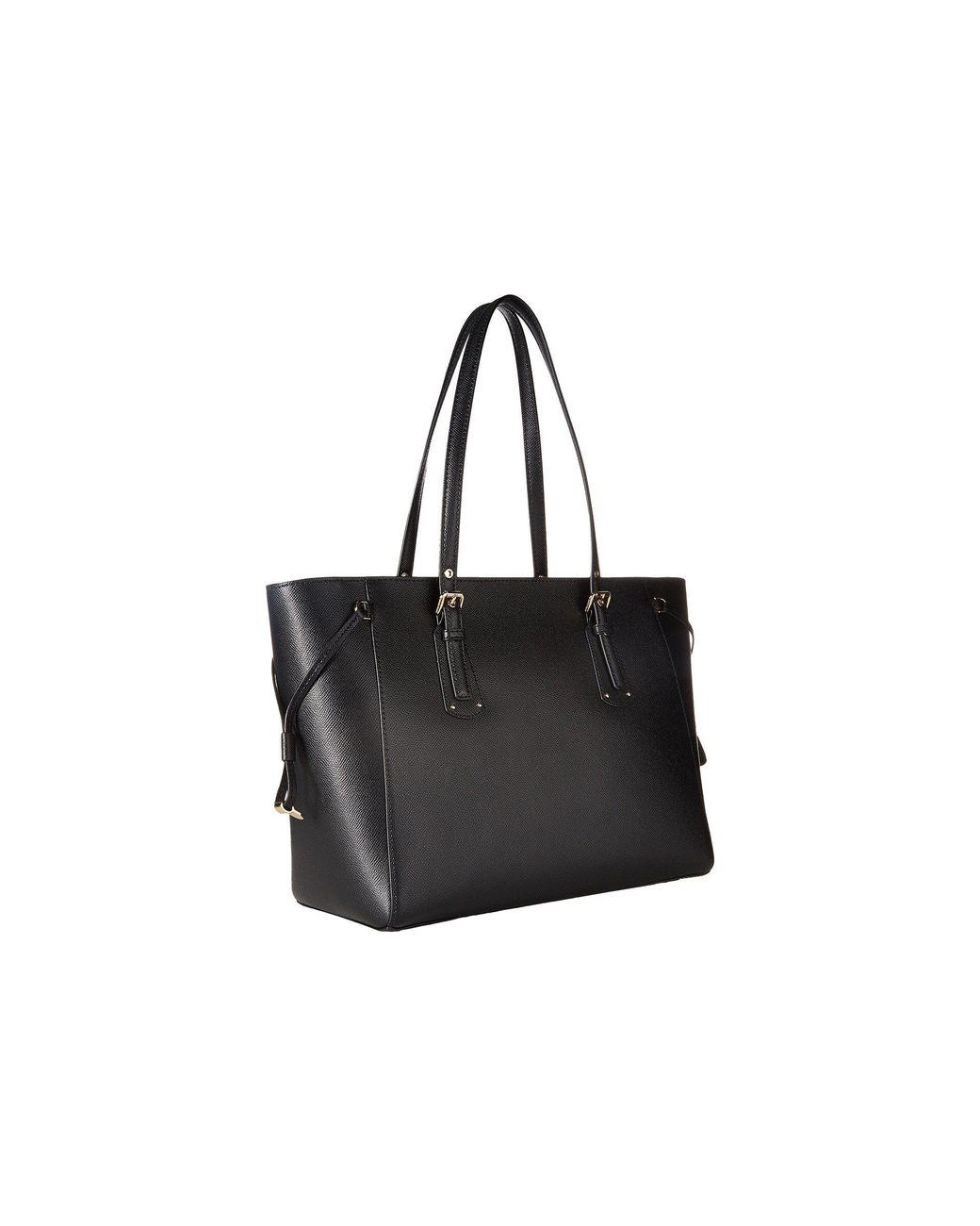 2322eb778b4 Lyst - MICHAEL Michael Kors Voyager Medium Top Zip Tote (black) Tote ...