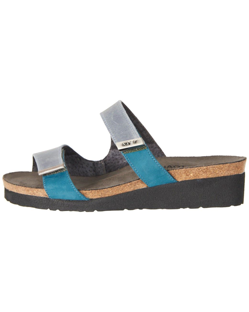a0642226a5c0 Lyst - Naot Jacey - Wide (navy Velvet Nubuck oily Blue Leather oily Coal  Nubuck) Women s Shoes