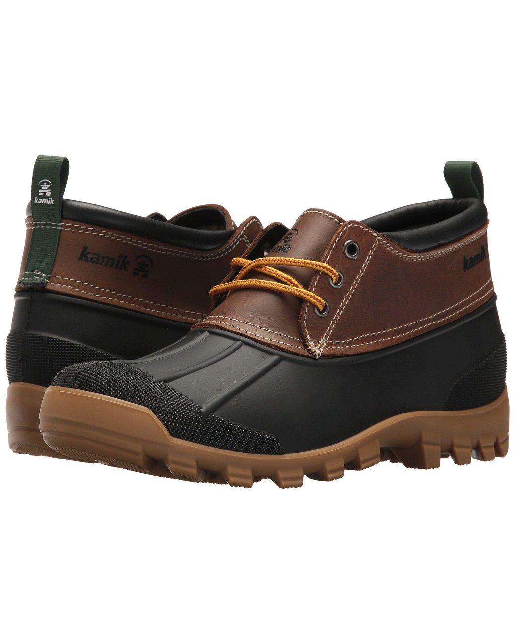 Kamik Leather Yukon 3 in Brown for Men