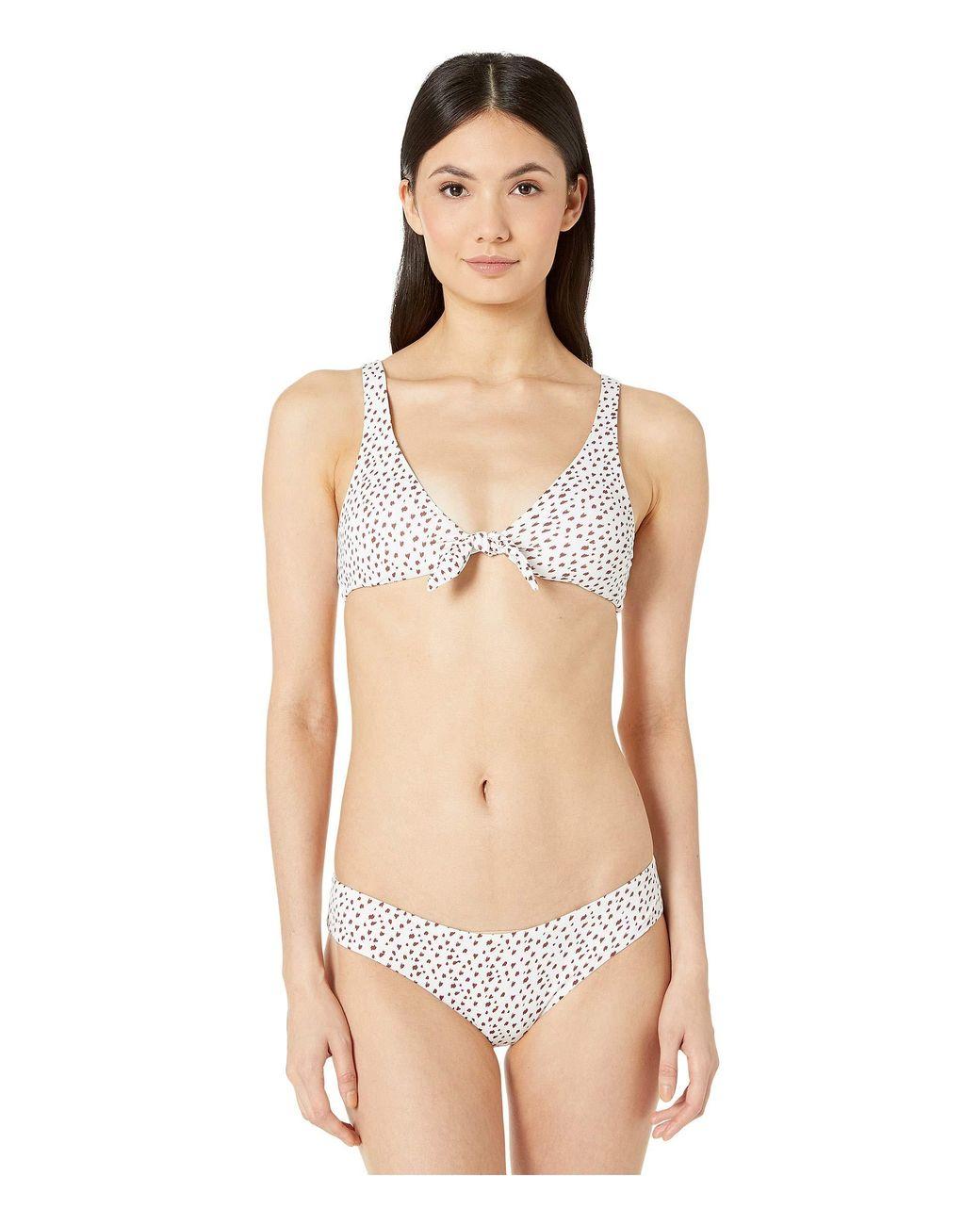 71f4fe8c5f Eberjey Felix Coco Bottoms (white/port) Women's Swimwear in White - Lyst
