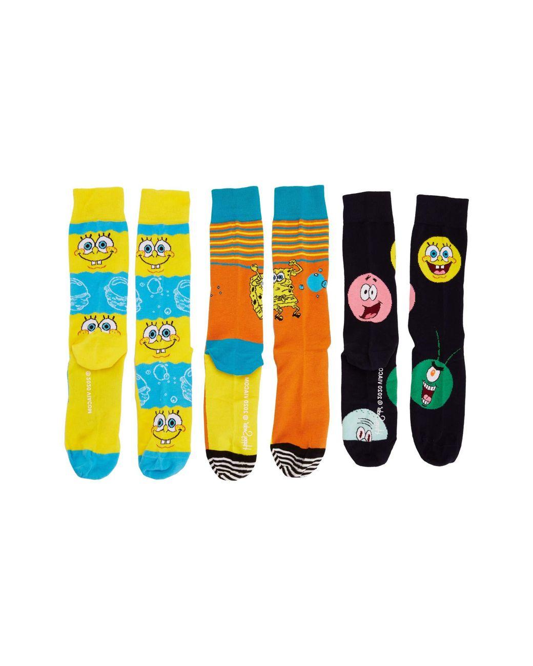 Multi BNWT Happy Socks NEW Men/'s Pop 3-Pack Trunks