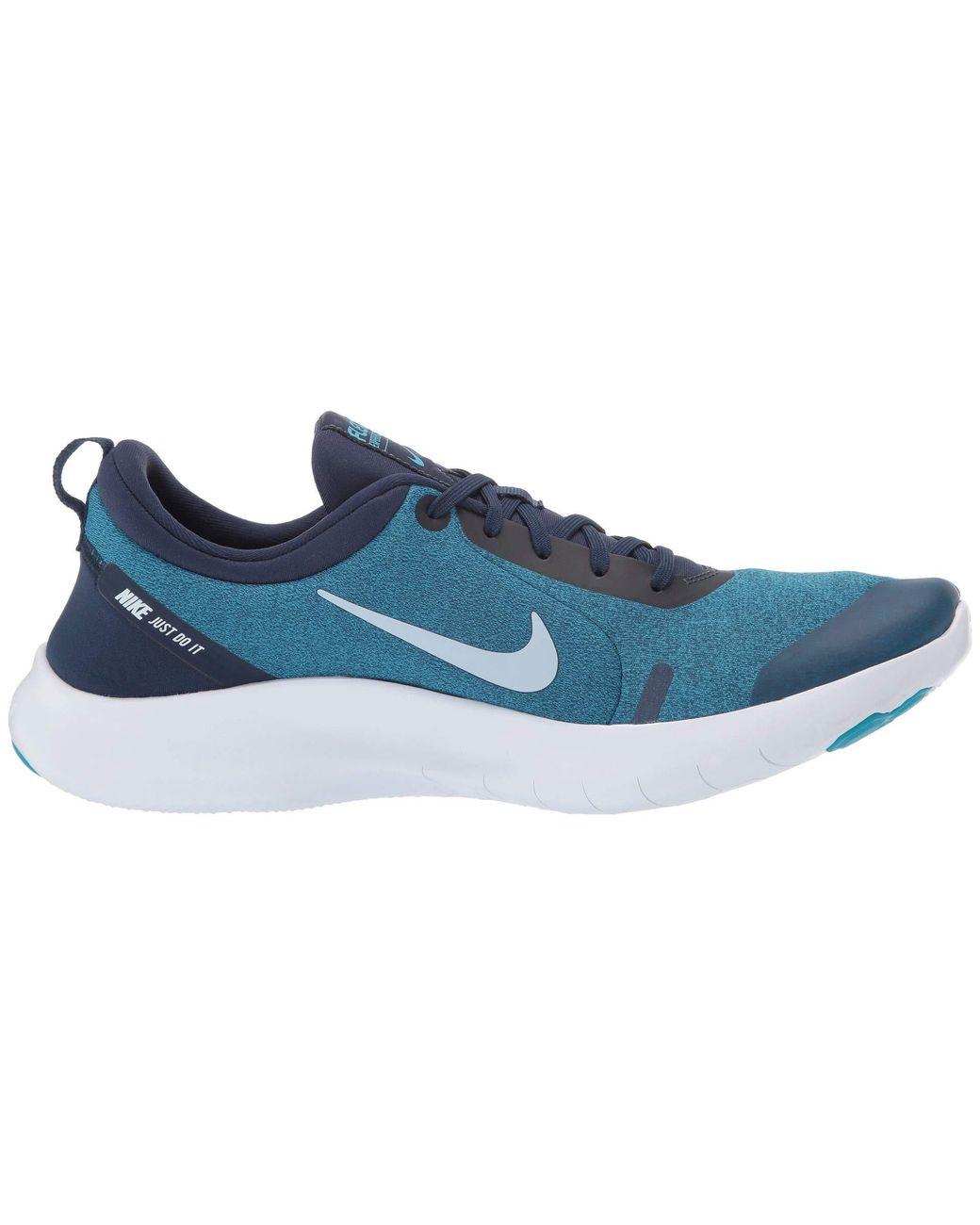 47bedacb3739 Lyst - Nike Flex Experience Rn 8 (midnight Navy white monsoon Blue) Men s  Running Shoes in Blue for Men