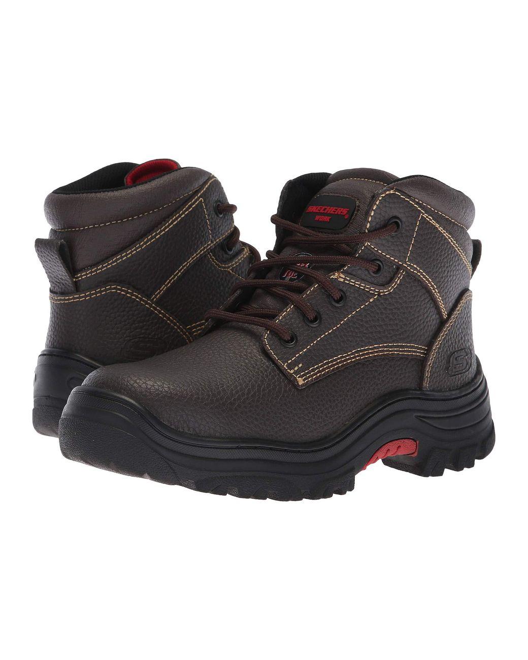 Skechers Work Burgin Taney Composite Toe Work Boots Womens