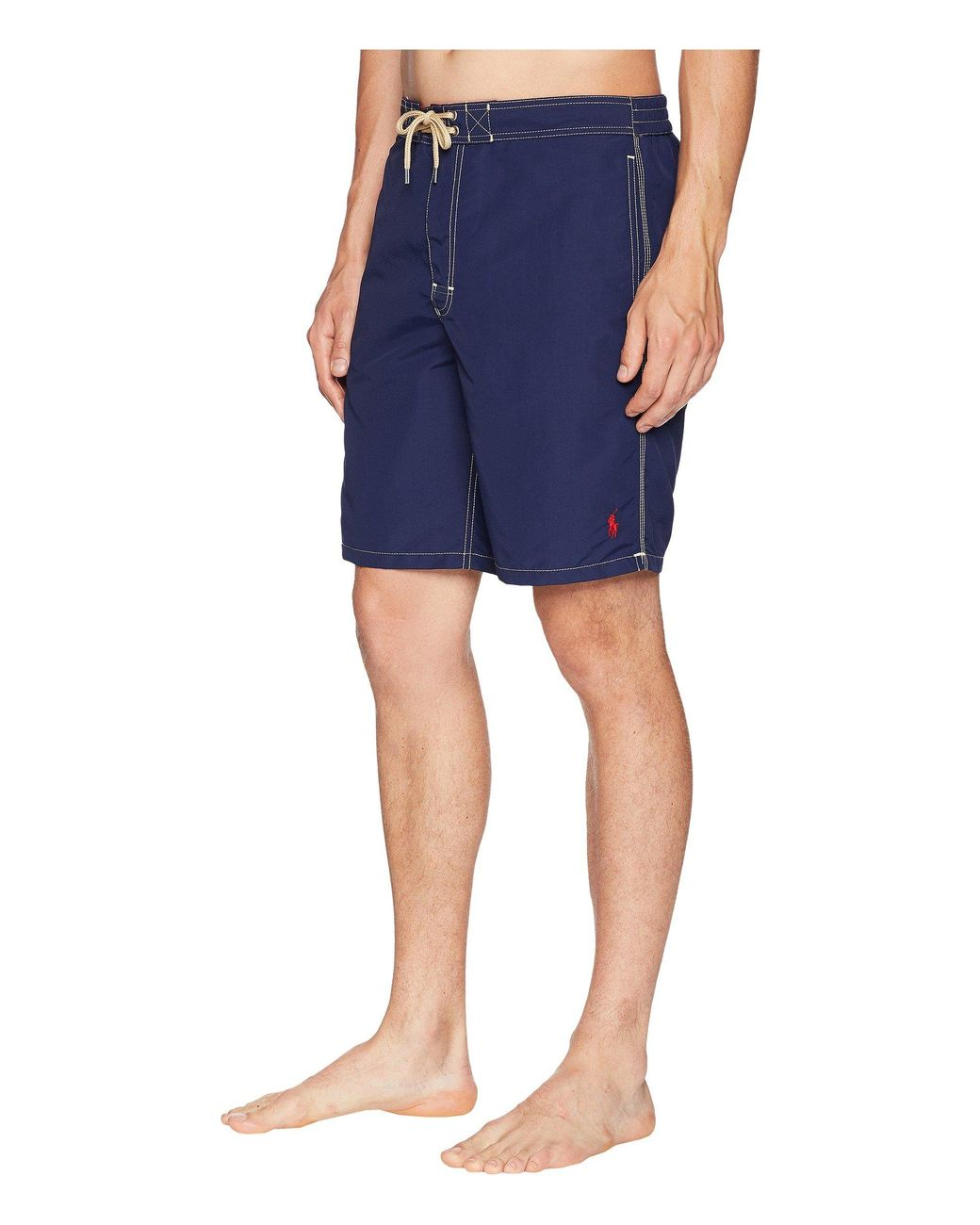 Men/'s Polo Ralph Lauren CORE KAILUA Newport Navy Blue Swim Trunks Beach Shorts S