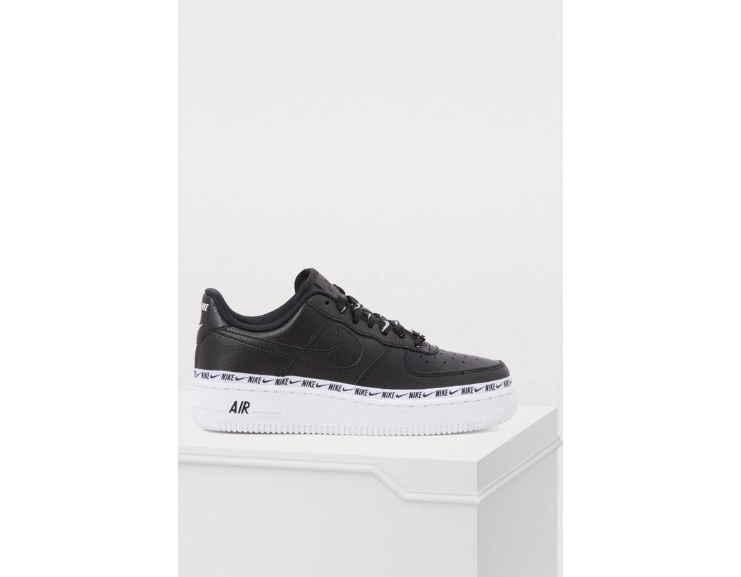 4ffadaab614 Lyst - Nike Air Force 1 07 Se Prm Sneakers in Black