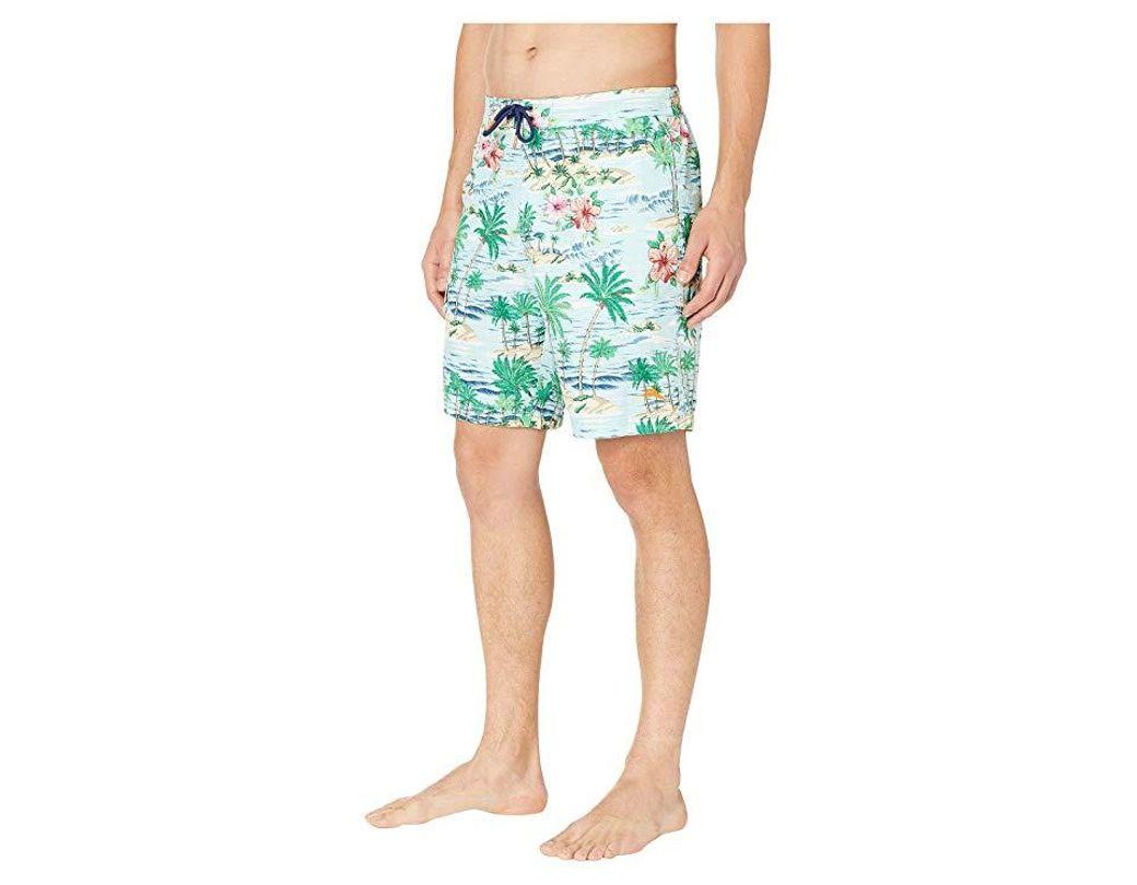 99cea7fcd7 Tommy Bahama Baja Aloha Surf Boardshorts (blue Swell) Swimwear in Blue for  Men - Save 42% - Lyst