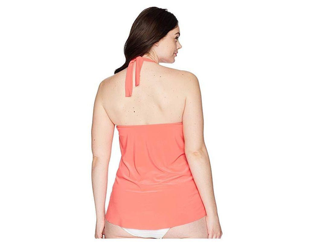 ca2ca20df0 Magicsuit Plus Size Solid Sophie Tankini Top (samba) Swimwear in Pink -  Save 19% - Lyst