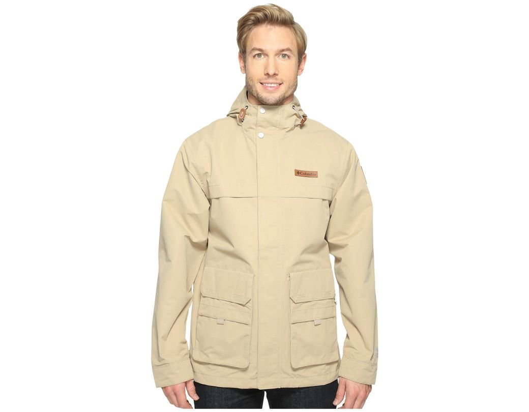 fd67cd36592 Lyst - Columbia South Canyon Jacket in Natural for Men