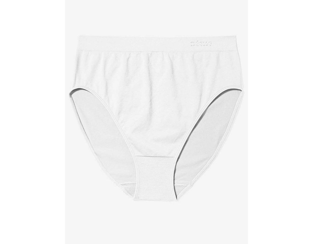 817099184c21ae Addition Elle Seamless Full Brief High Cut Panty - Déesse Collection in  White - Lyst