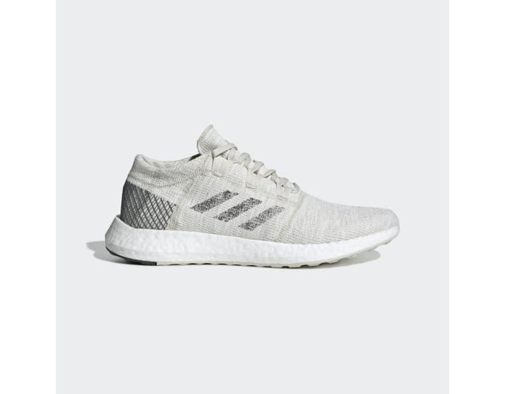 13762d47a8d57 Lyst - adidas Pureboost Go Shoes in White