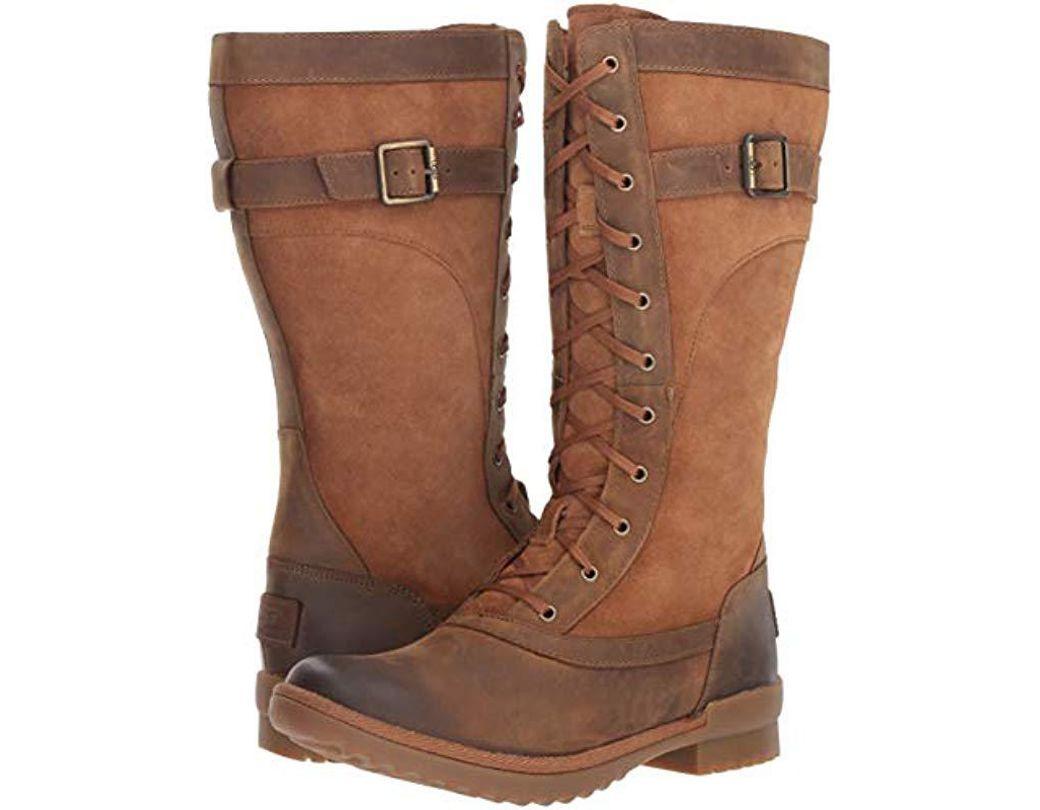 72ee9444b63 Ugg Brown W Brystl Tall Fashion Boot