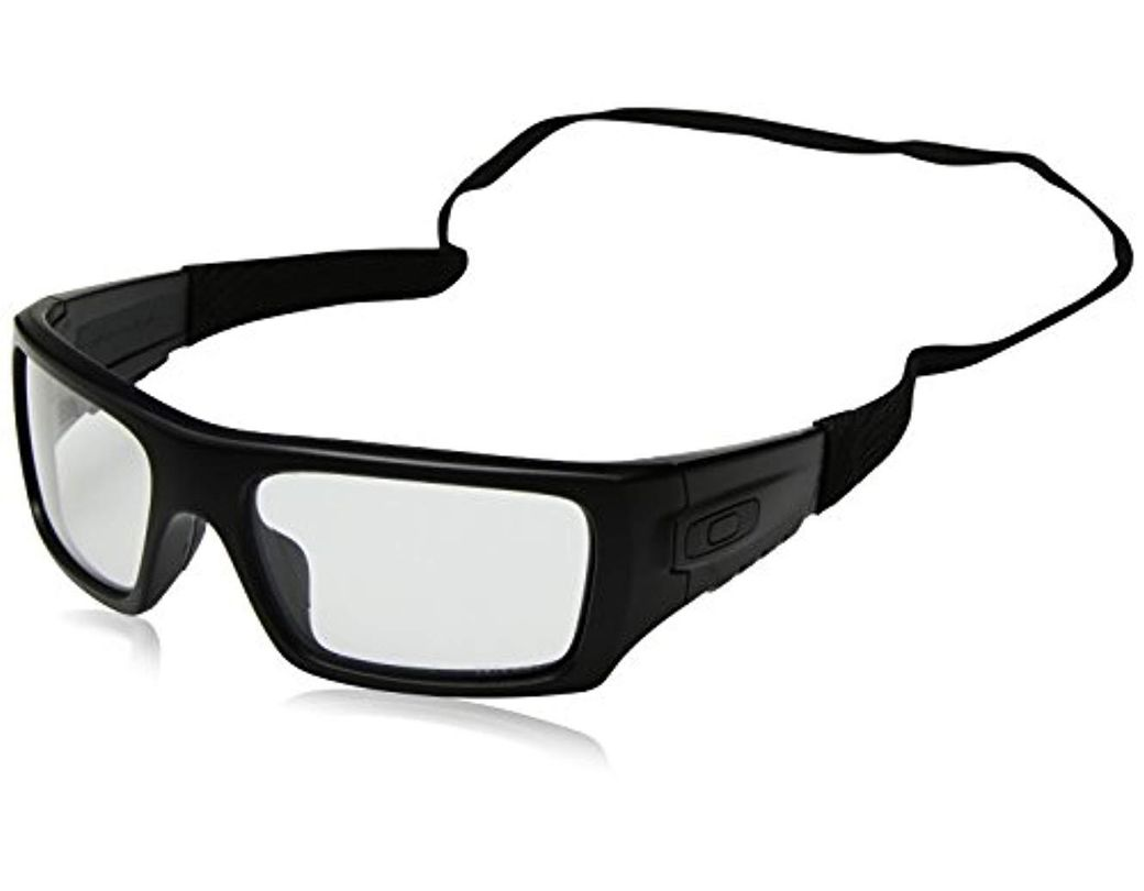 a28aaa84af Lyst - Oakley Clear Industrial Det Cord Clear in Black for Men