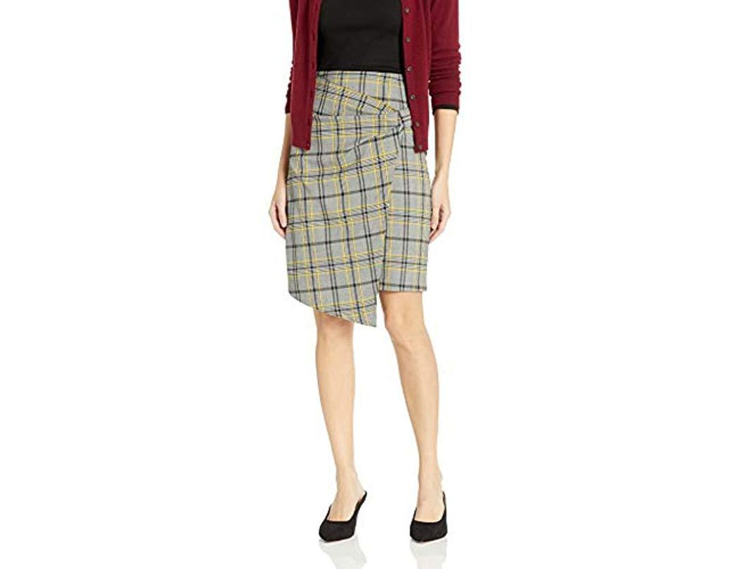 f612e896f8 Lyst - Ellen Tracy Bow Front Skirt, - Save 66%