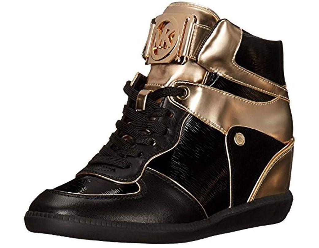 090327435b061 Women's Michael Nikko High-top Black Suprema Nappa Sport Sneaker