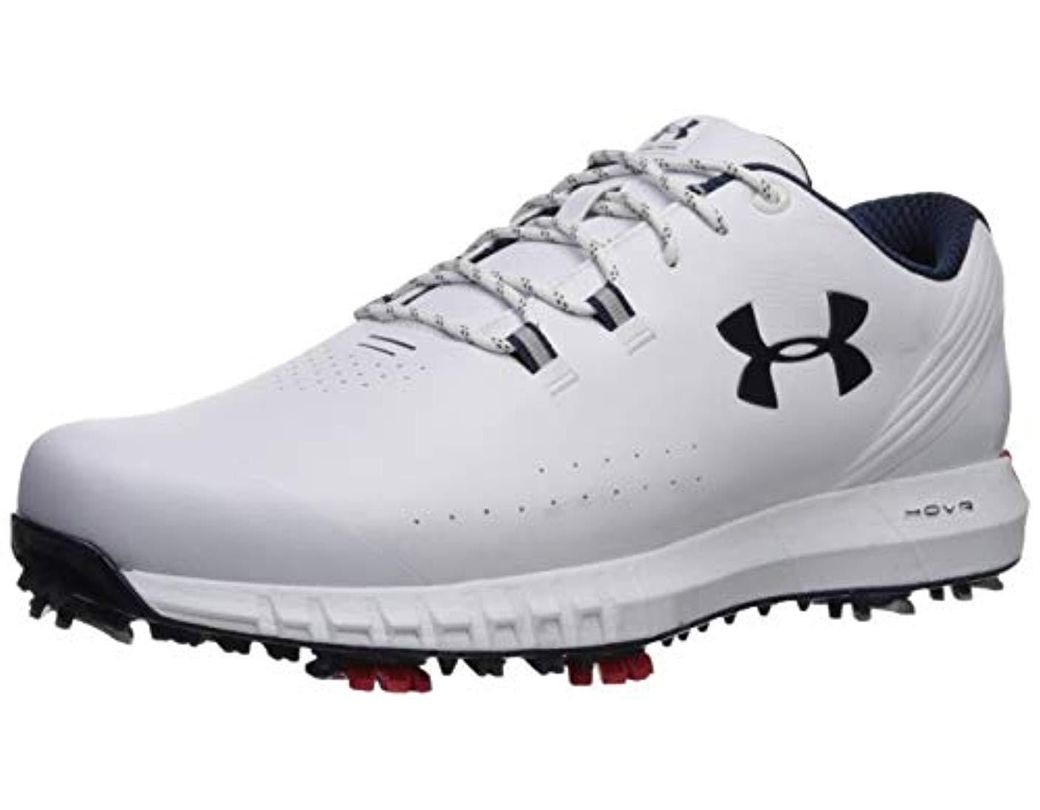 reputable site f2745 e7339 Lyst - Under Armour Hovr Drive Wide Golf Shoe in White for Men