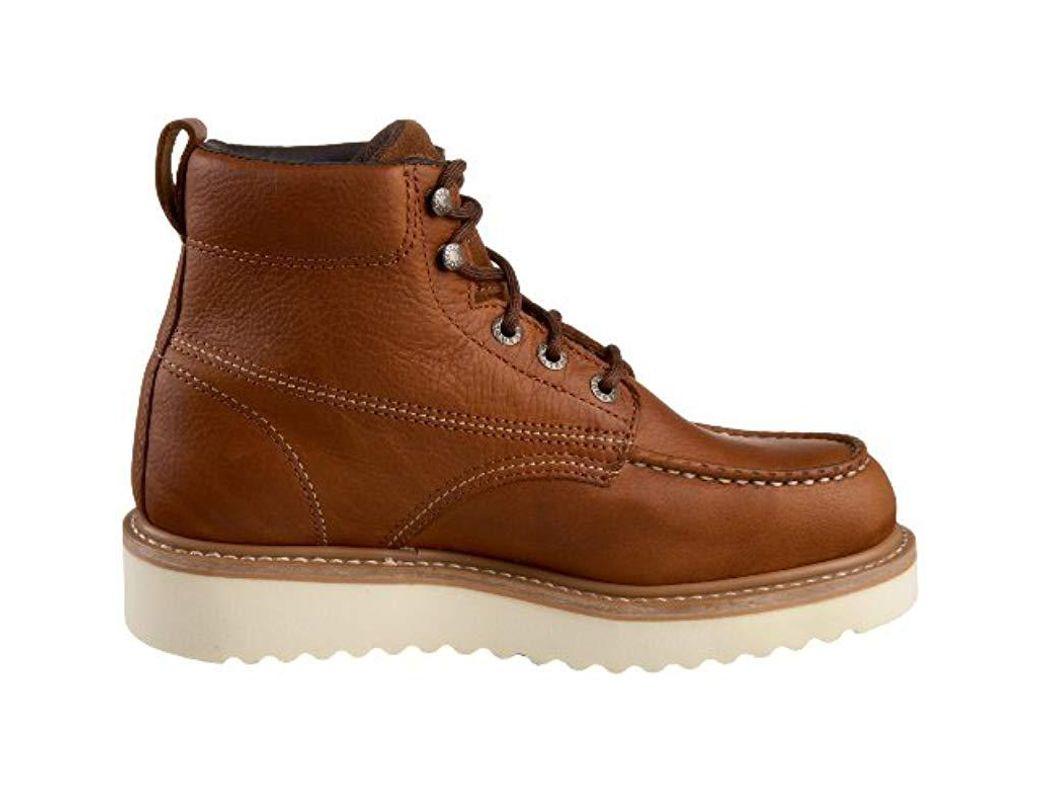 27f53b3c4a5 Men's Brown Moc-toe 6