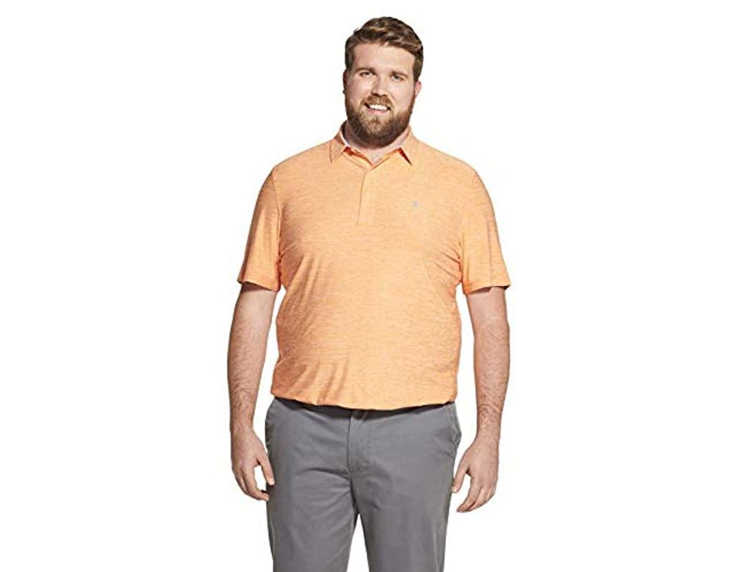 8bd8e298 Lyst - Izod Big And Tall Golf Title Holder Short Sleeve Solid Polo for Men