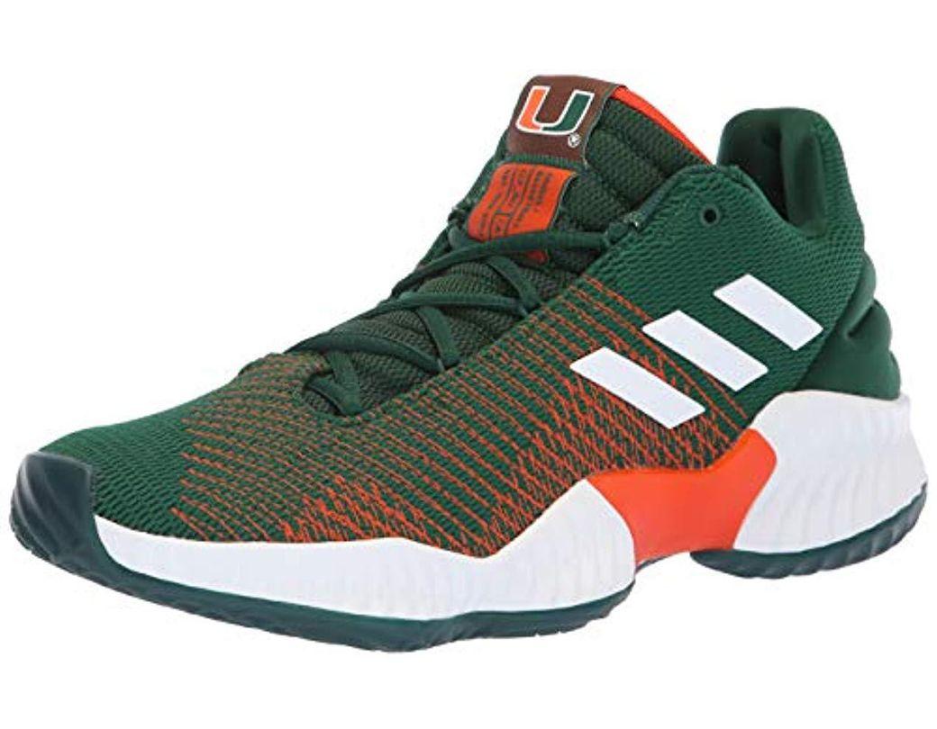 buy online bcb6d 62d50 adidas Originals. Men s Green Pro Bounce 2018 Low Basketball Shoe