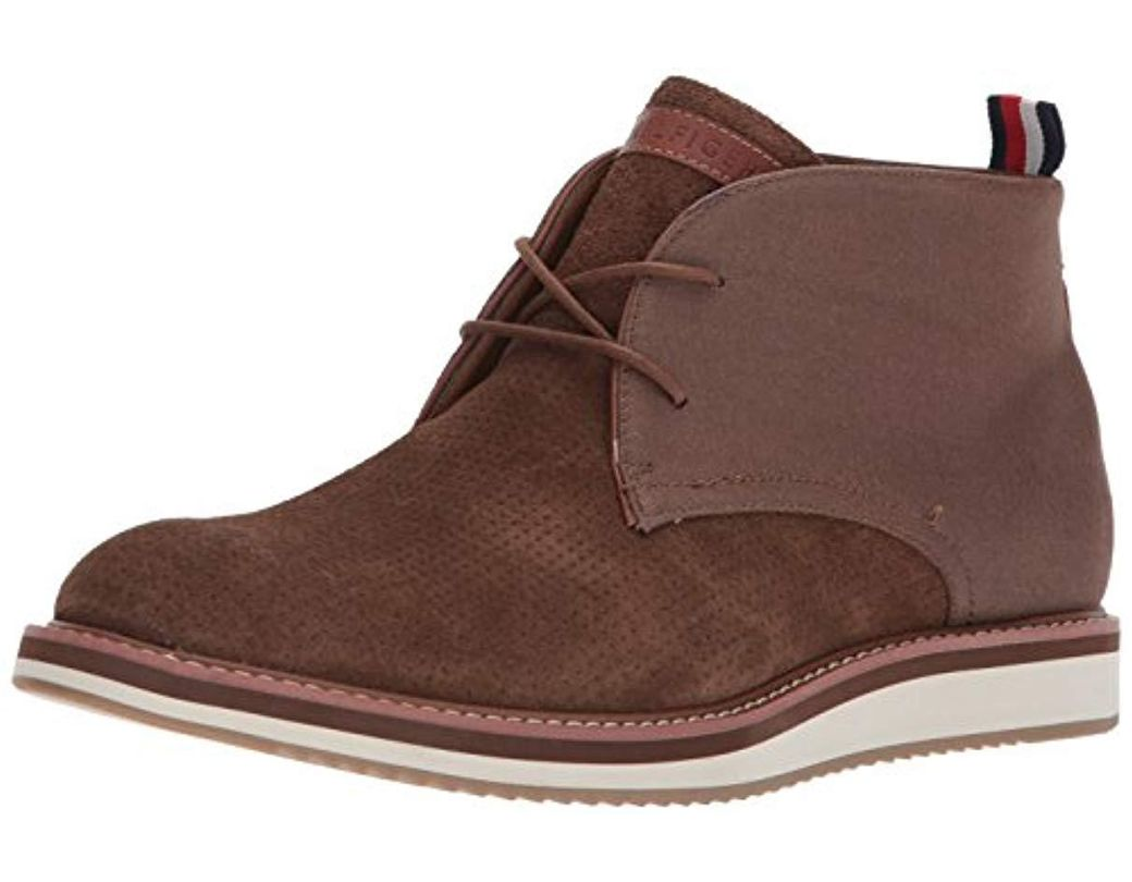 c8286967a Lyst - Tommy Hilfiger Jyler Shoe in Brown for Men - Save 61%