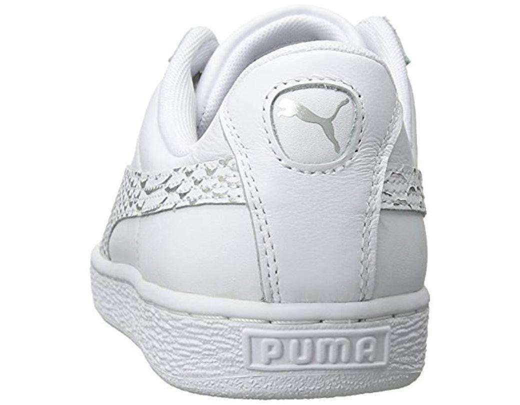 buy popular 852a2 2e54f Women's White Basket Heart Oceanaire Wn Sneaker