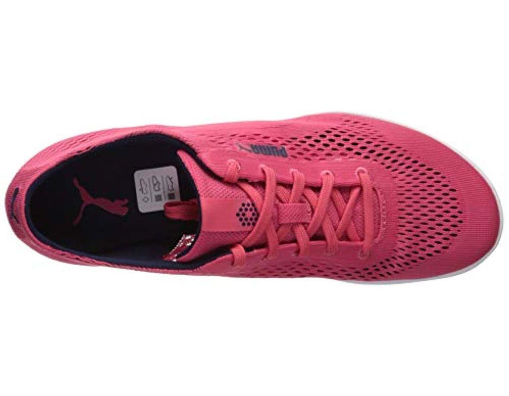 Women's Golf Monolite Cat Woven Shoe, Paradise Pink, 6 Medium Us