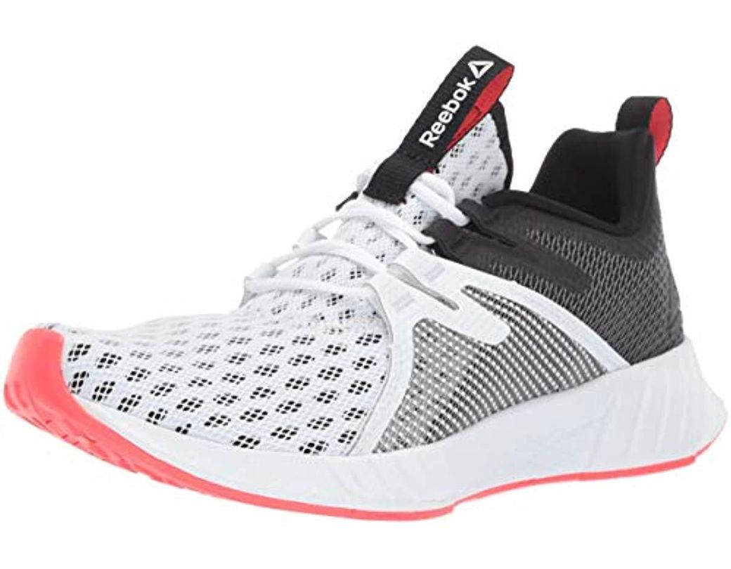 461e73dc1 Reebok. Fusium Run 2.0 (white black neon Red silver) Women s Running Shoes
