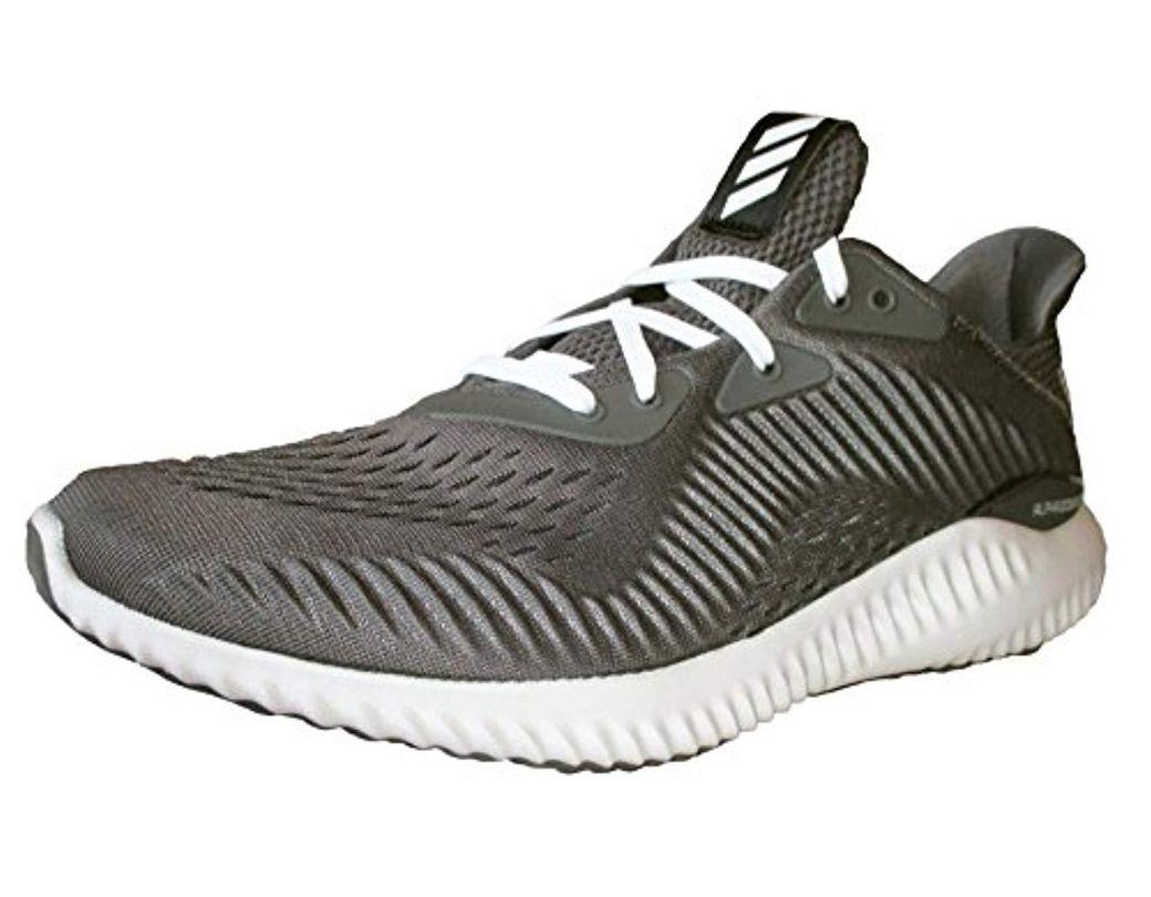 0a70bdaacfd41 Lyst - adidas Alphabounce Em M Running Shoe in Gray for Men
