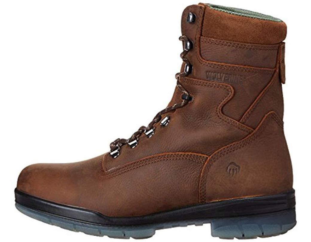 8670cb9ee63 Men's Brown 8 Inch Durashock High Performance Work Boot