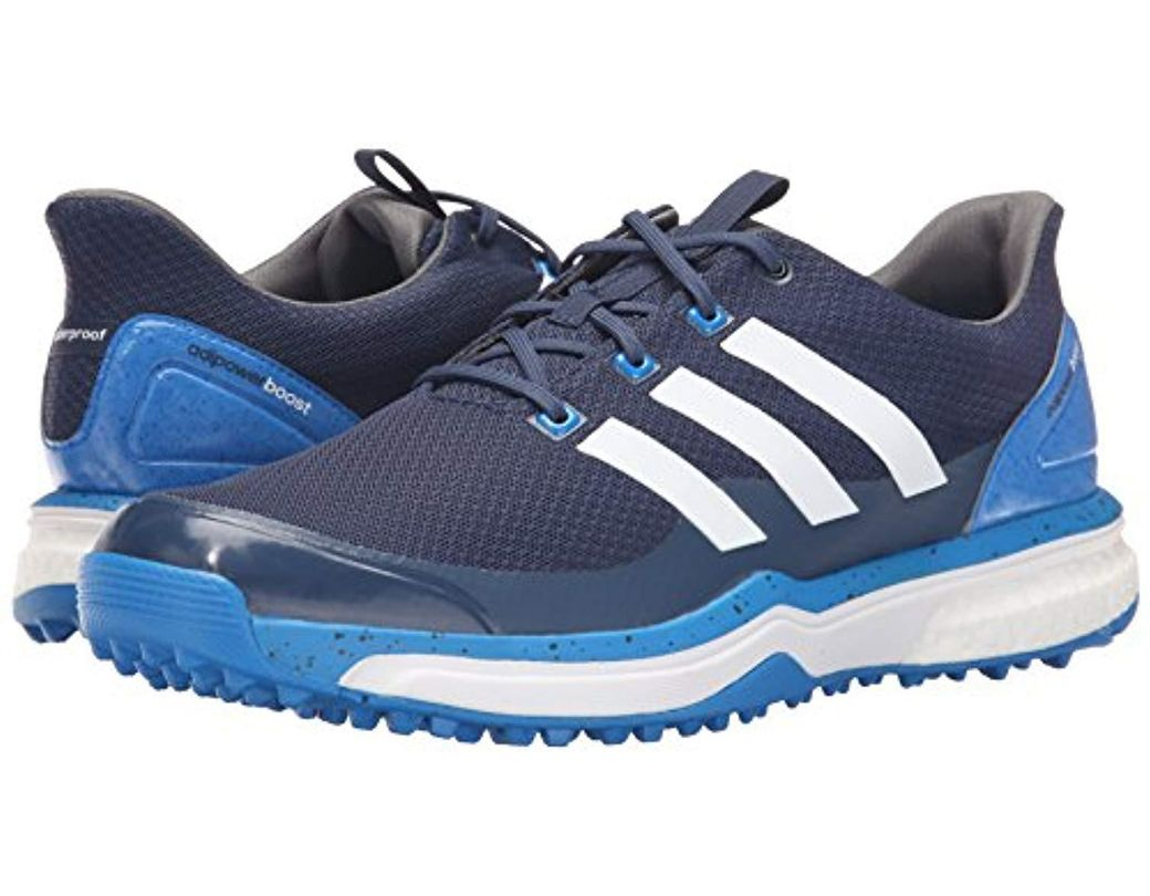pretty nice e54f5 04325 adidas Adipower S Boost 2 Golf Cleated in Blue for Men - Save 32% - Lyst