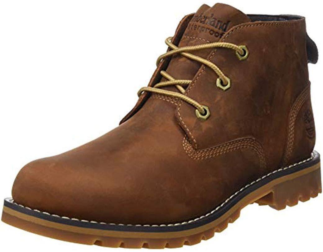 9b2c78f057b Men's Brown Larchmont Ftm_larchmont Wp Chukka, Chukka Boots