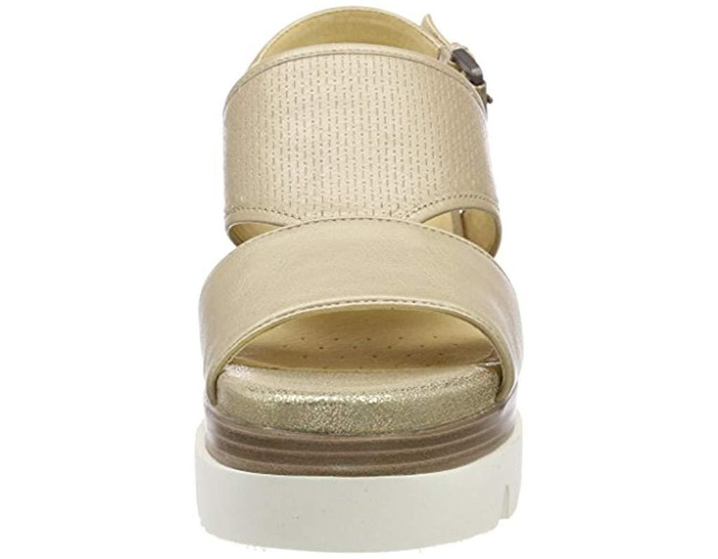 In Radwa D Lyst Platform B 's Sandals Geox Natural WH9ID2EY