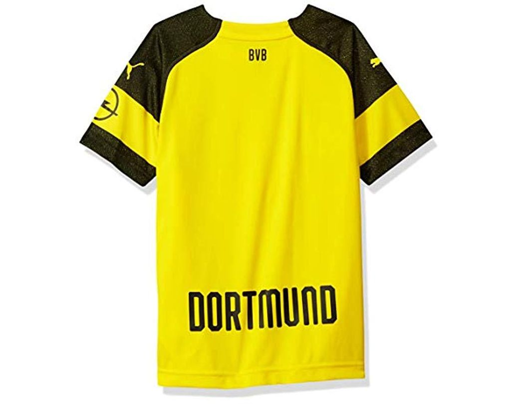 56cc8626c675a Yellow Bvb Men's Home Replica Jersey