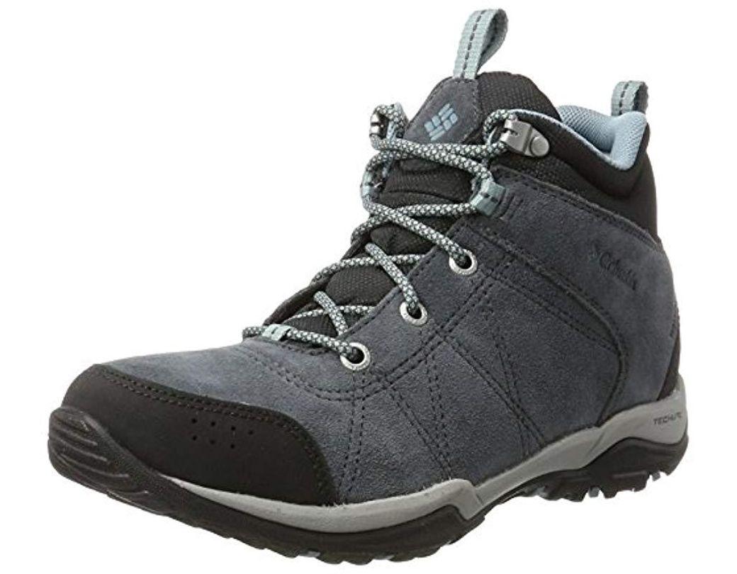 526897f74 Women's Gray Fire Venture Mid Waterproof Multisport Outdoor Shoes