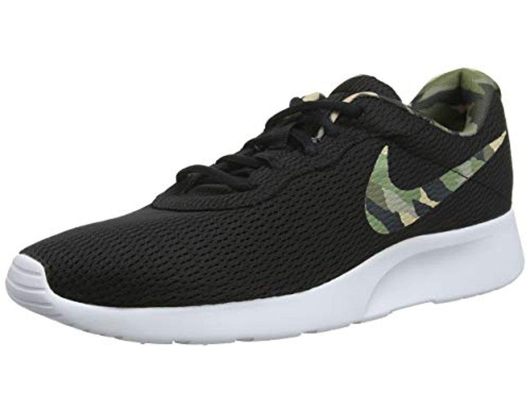 low price sale to buy multiple colors Nike Tanjun Premium Low-top Sneakers in Black for Men - Save ...